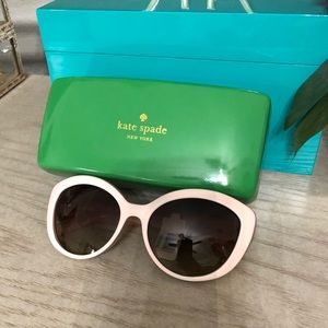 Kate Spade sunglasses - blush with case